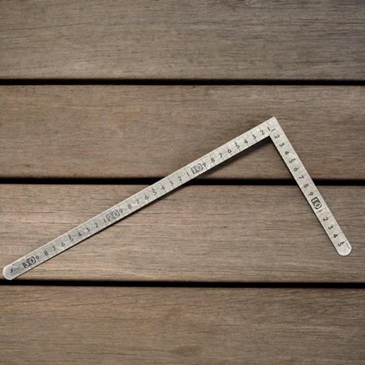 シンワ測定 曲尺小型 平 ステン 12114 1枚目