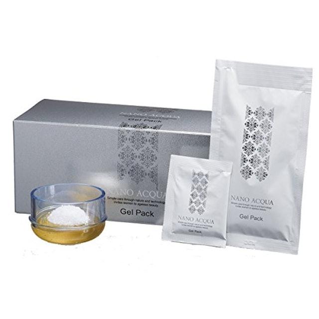 フェヴリナ ナノアクア 炭酸ジェルパック 10回分 カップ・スパチュラ付 1枚目
