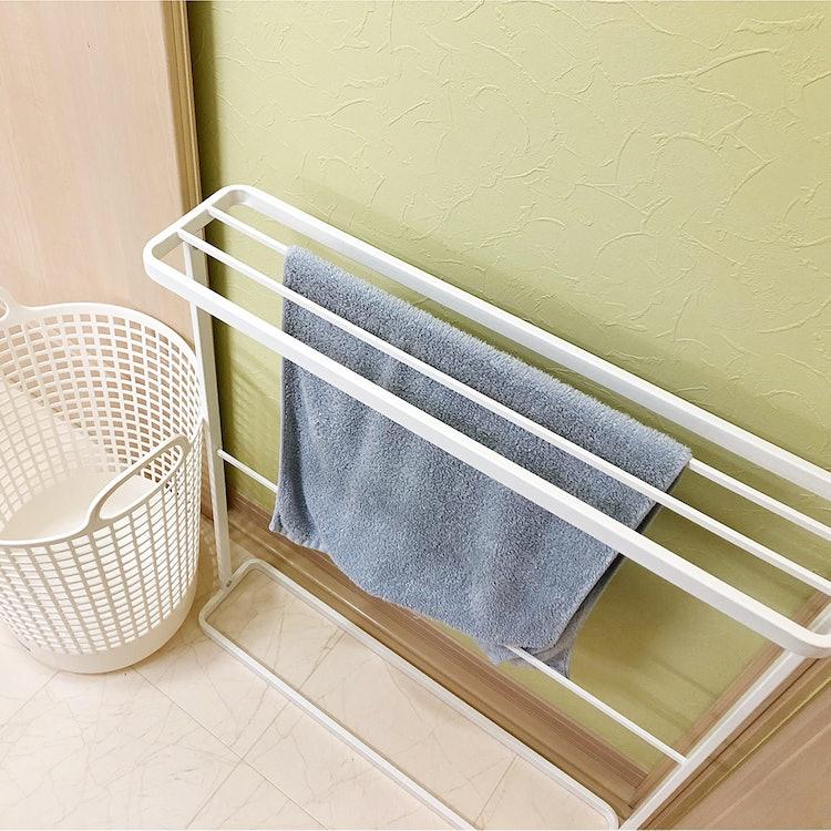 バスタオル掛け 洗面所