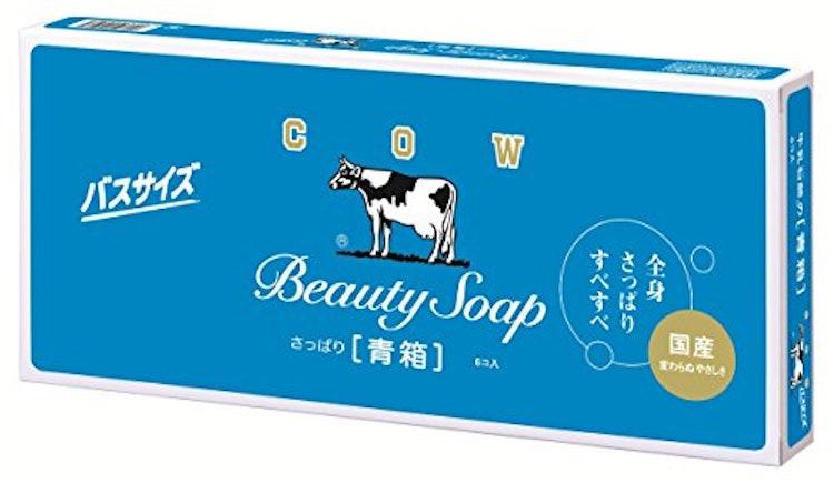 カウブランド 牛乳石鹸 青箱バスサイズ 135g 6個セット 1枚目