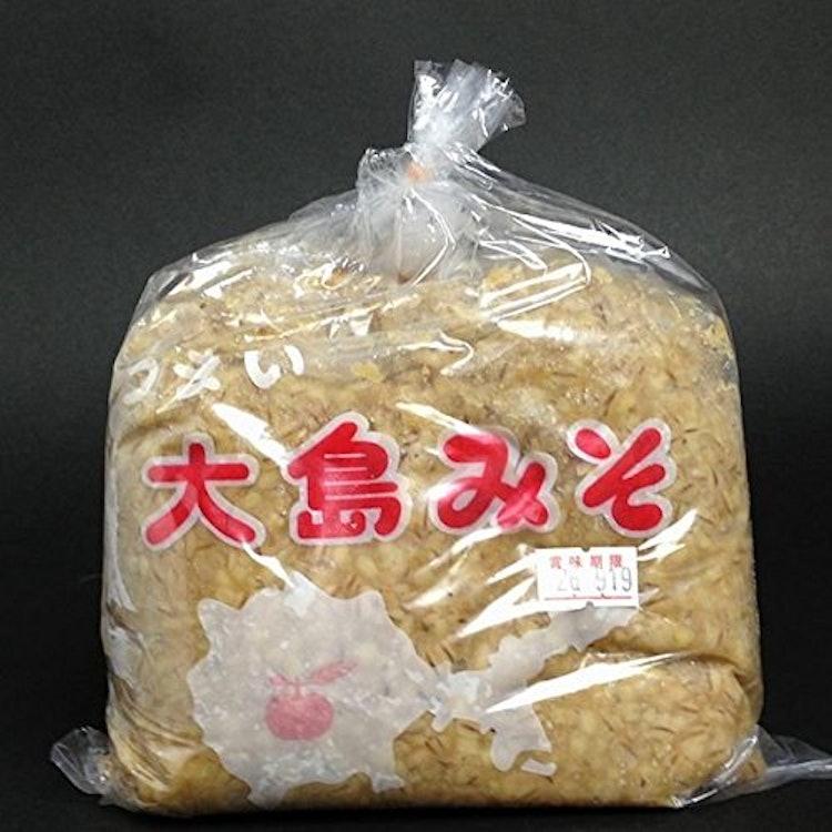 大島みそ 麦みそ 1Kg×5個 1枚目