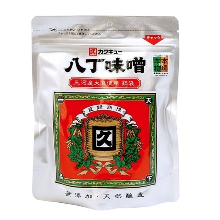 カクキュー 三河産大豆八丁味噌銀袋 1枚目