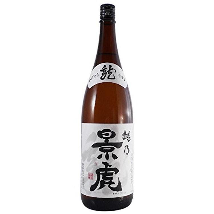 諸橋酒造 越乃景虎 龍 1.8L 1枚目