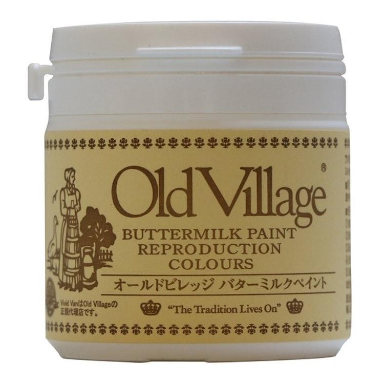 オールドビレッジ バターミルクペイント YELLOWISH WHITE 200ml 1枚目