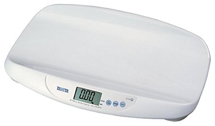 タニタ 体重計 デジタルベビースケール ホワイト 1枚目