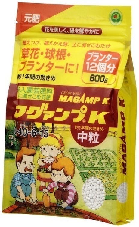 ハイポネックスジャパン マグァンプK 中粒 600g 1枚目