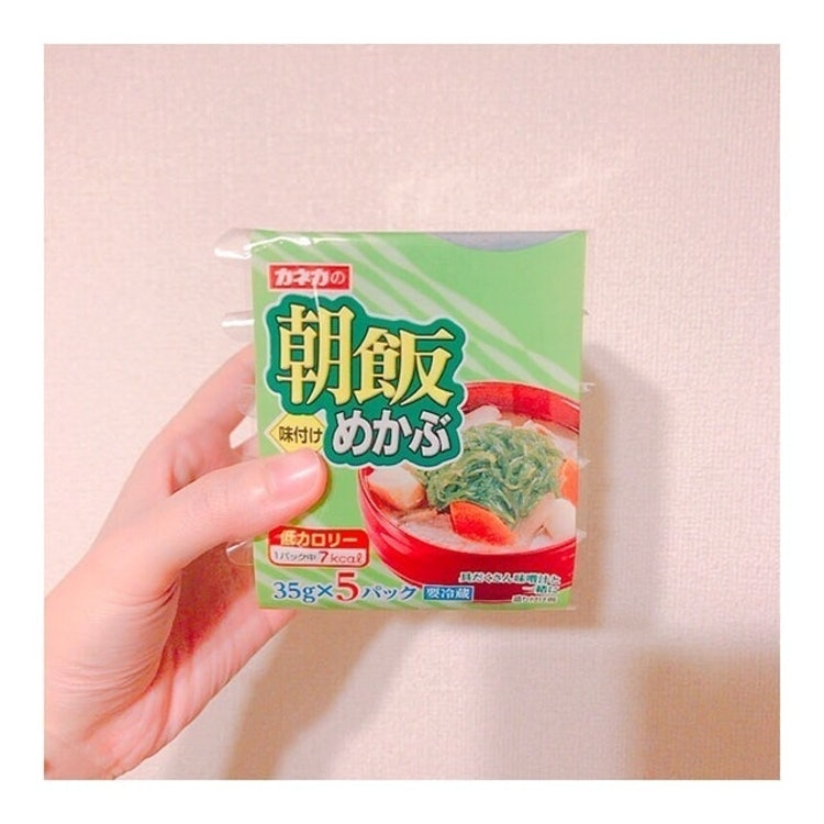 カネカ 朝飯めかぶ 35g×5 1枚目