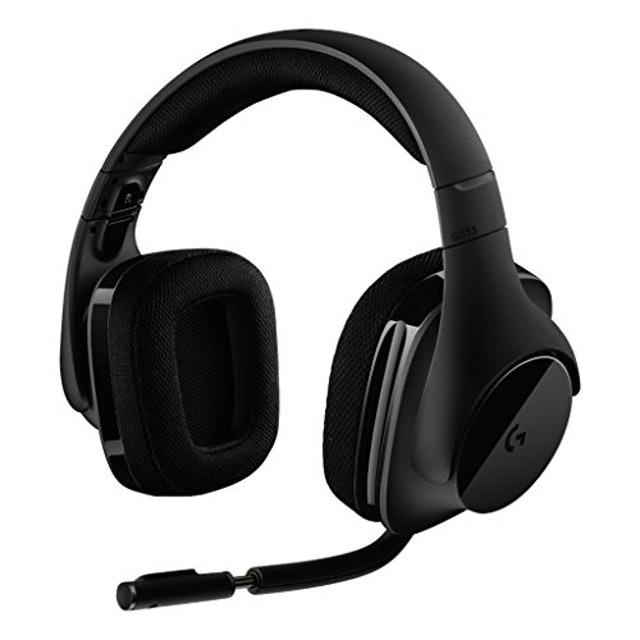 ロジクール G533 ワイヤレス DTS® 7.1 サラウンド ゲーミング ヘッドセット 1枚目