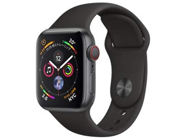 アップル AppleWatch Series4 (GPS+Cellularモデル) 40mm 1枚目