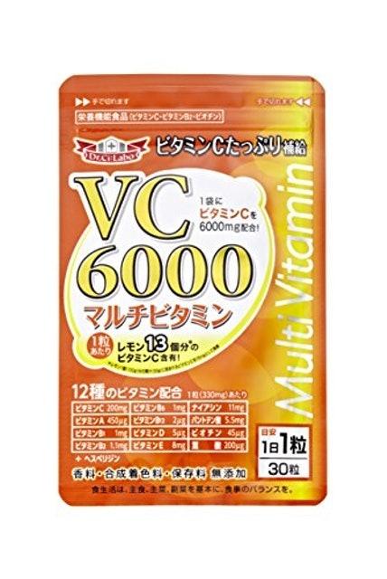 ドクターシーラボ 【PR】VC6000マルチビタミン 1枚目
