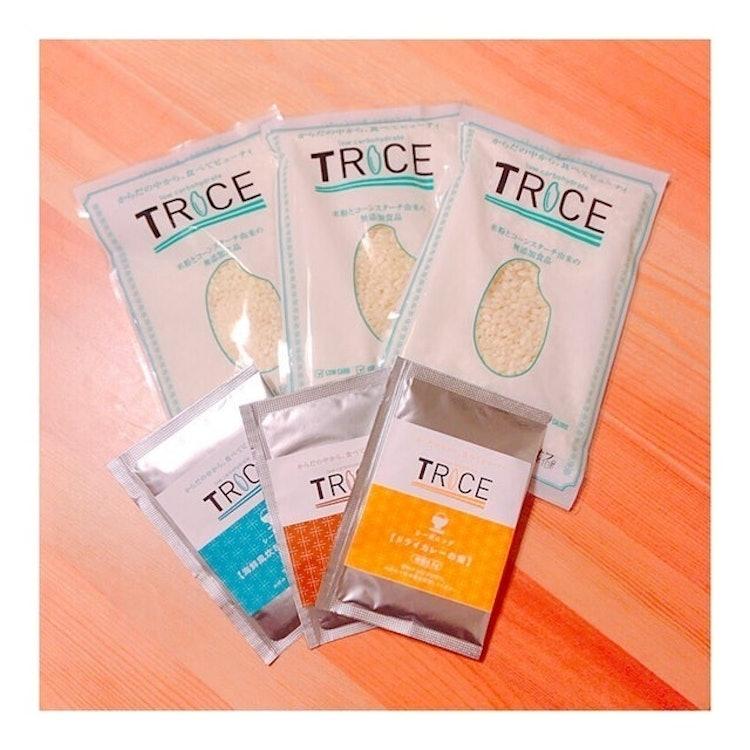 TRICE 米粉から作った低糖質米 1枚目