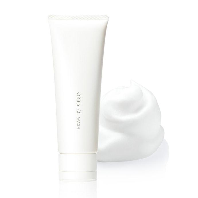 「ウォッシュ」は毛穴の汚れや皮脂を一掃。化粧水の浸透を助ける