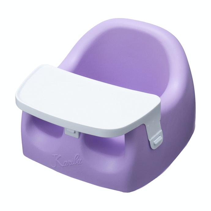 着脱式トレーが便利!遊び・食事・お風呂で使える