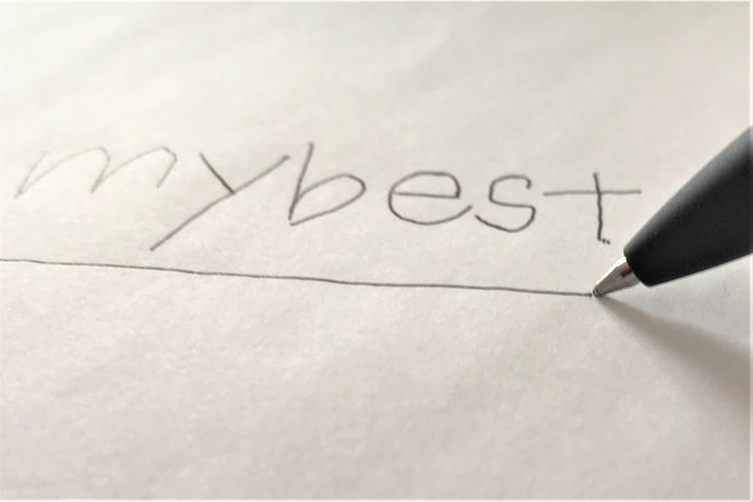低粘度インクが肝!ノンストレスで書き続けられる
