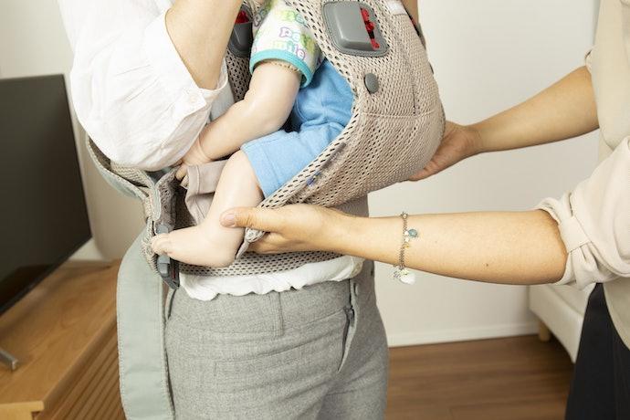 口コミ②:赤ちゃんの姿勢が苦しそう