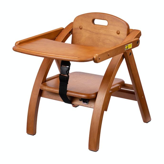 【レビュー結果】人気のベビーローチェア18商品中8位!木製ならではの丈夫さと安心感が強み