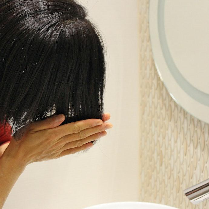 抜け毛は変わらない。でも髪がきしんで指通りは悪くなった