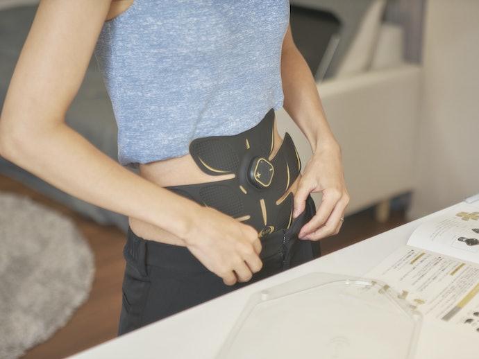 腹筋の割りやすさ・くびれの作りやすさは両方とも5.0点!全体に効き目が感じられる