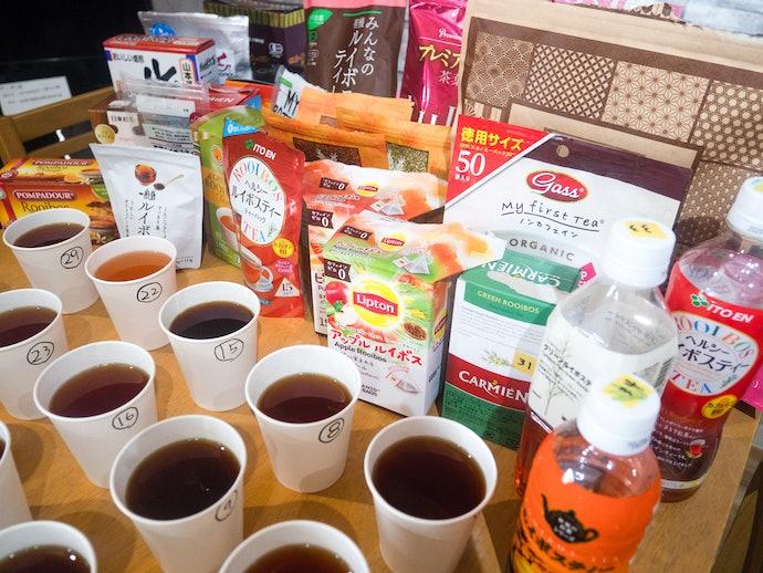 日東紅茶 オーガニックルイボスティーを実際に試して検証レビュー!