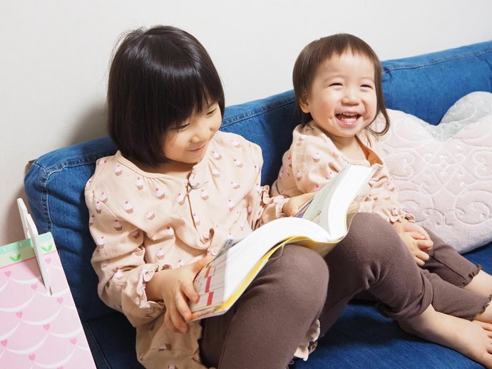 2歳と6歳の娘が楽しそうにずっと眺めていた