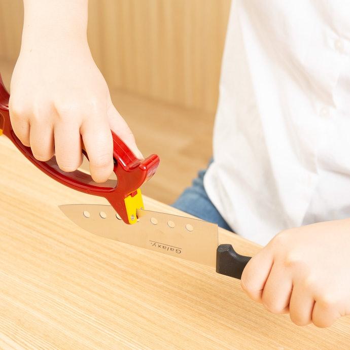 セラミックには使えないが、握りやすく手にフィットしやすい