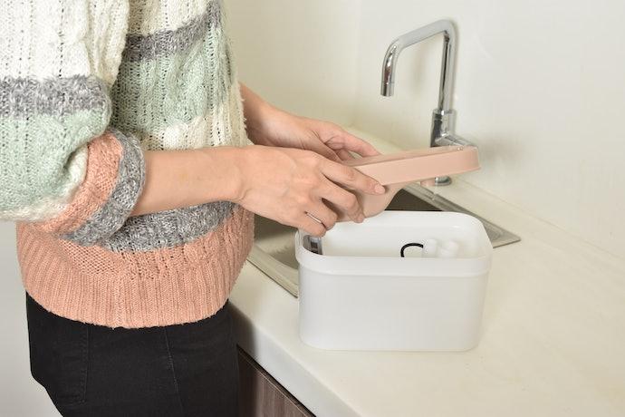洗いにくい箇所がなく、コードが途中で外せるので使いやすい