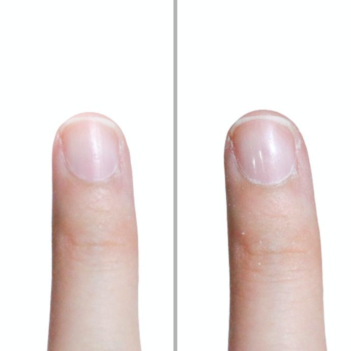 仕上がりは爪やすり・爪磨きとして完璧。1台2役とは思えない抜群の綺麗さ