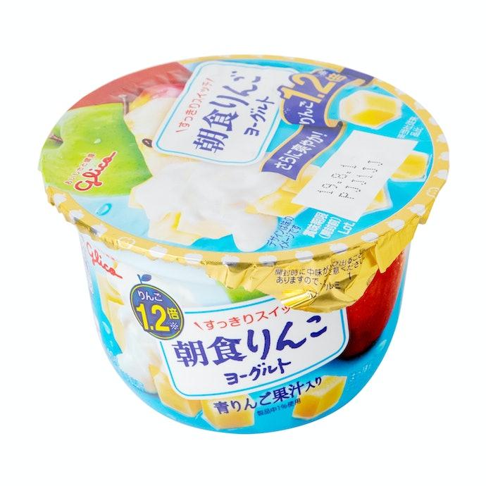 【レビュー結果】全20商品中4位!シャキシャキりんごをまるごと味わえる!朝食に食べたいヨーグルト