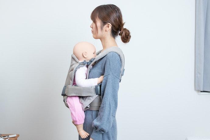 独自の立体構造で首座り前の赤ちゃんにもぴったり