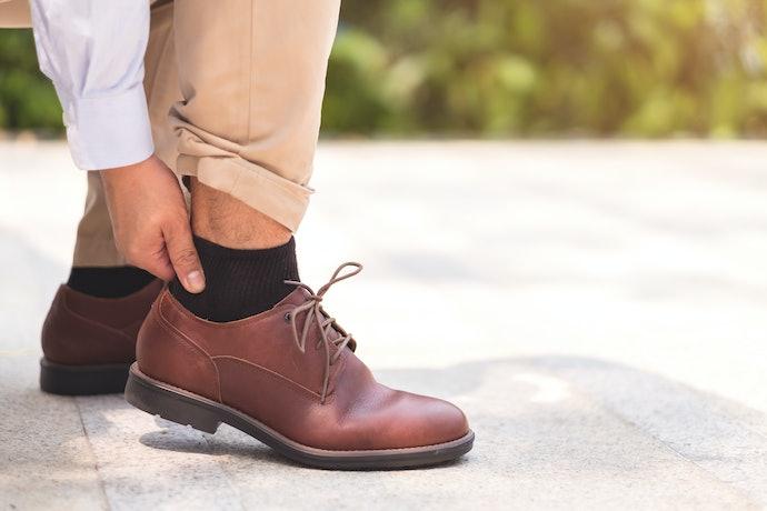 口コミ②:持っている靴に合わない