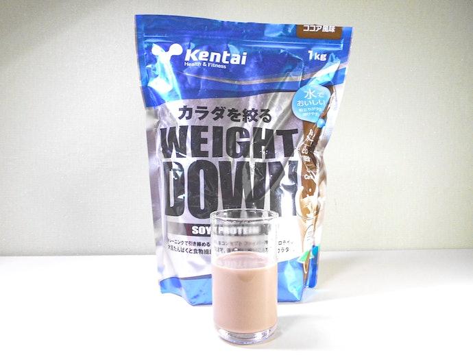 【甘さ控えめココア風味】ココアの味が濃い。牛乳で作ると大豆の風味を抑えられる