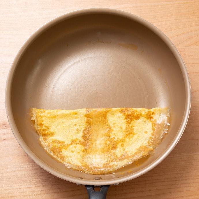 抜群の耐摩耗性で満点!卵は全くくっつかない