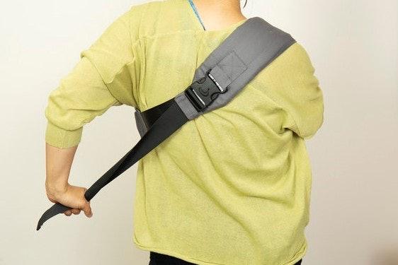口コミ②:肩に負担がかかって、長くは使えない