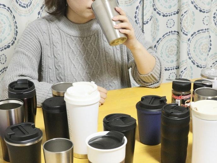 熱くても飲みやすい。持ったときのフィット感も◎