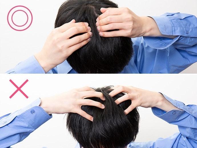 予洗いと十分なすすぎで、よりまとまりのある髪に!