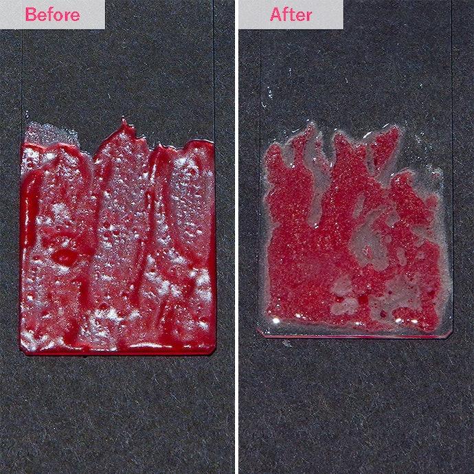 皮脂汚れがしっかり落ちる。比較商品の中でも断トツの洗浄力