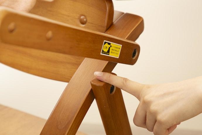 安定感は抜群!テーブルの隙間の指はさみには要注意