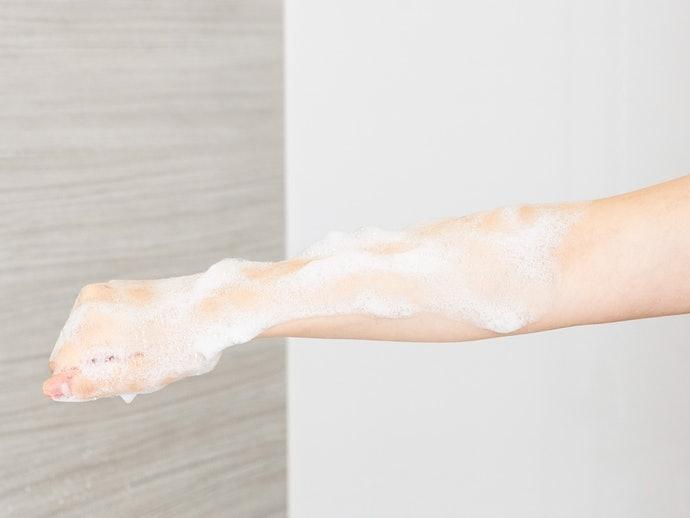 検証②:洗い流しやすさ