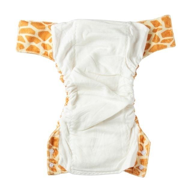 赤ちゃんの肌に優しい、竹素材70%の布おむつ