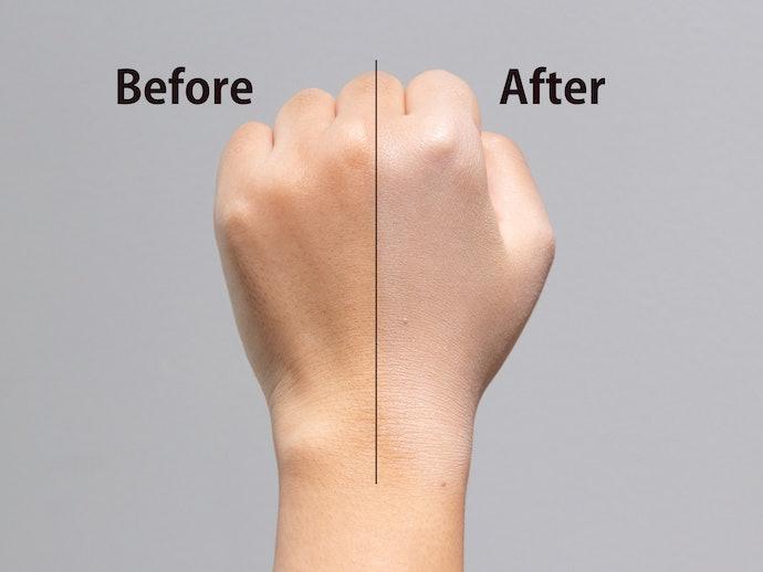 肌への浸透もカバー力もGood!ファンデーションの量も減らせて綺麗に仕上がります!