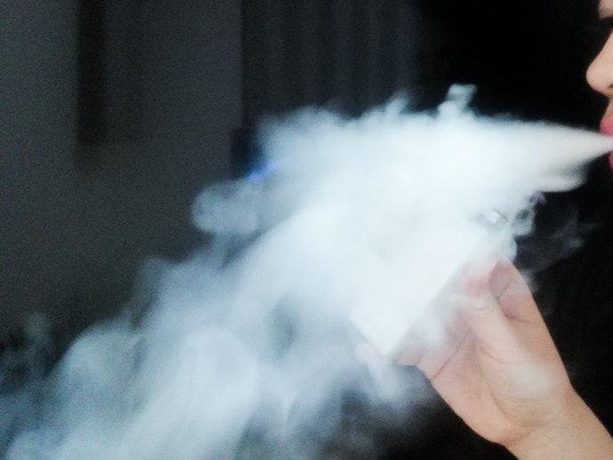 蒸気はやや熱い程度で、スピッドバックはなし!