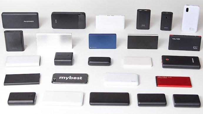 人気のモバイルバッテリー24商品を比較検証した結果、Anker PowerCore Lite 10000は16位に