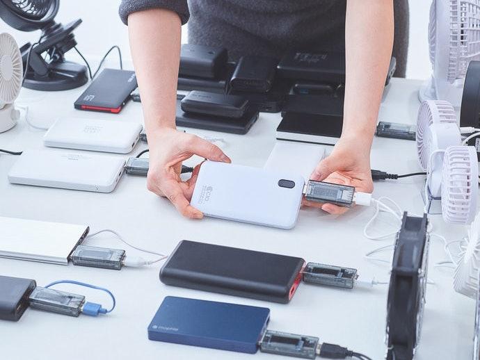 ダイソー モバイルバッテリーを実際に使用して検証レビュー