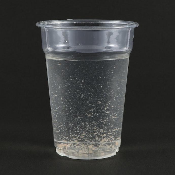 浄水能力は高いが、ゴミは残ってしまう