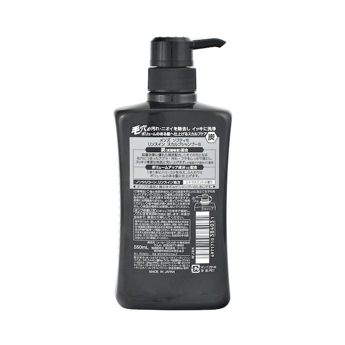 洗浄力が高い成分を複数配合。保湿や補修成分が無配合のため、パサつきに注意