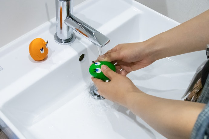 手洗いや洗濯機の使用OK!いつでも清潔に使えて安心