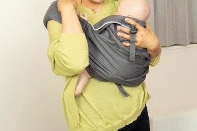 首すわり前の赤ちゃんなら、肩は割とラク