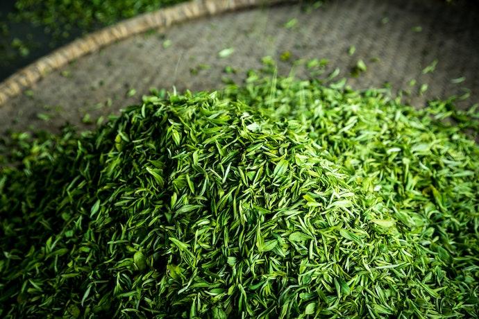 緑茶成分配合で、臭いを和らげる