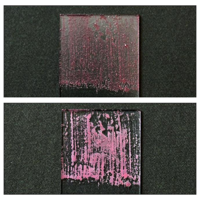 人工皮脂の落ち具合は約半分。普通の汚れであれば問題なし