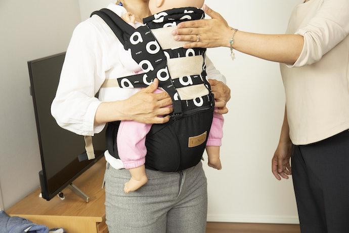 LaNova 抱っこひもを快適に使用するには?